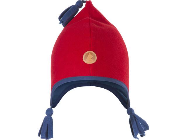 Finkid Pipo Bonnet Kids Red/Denim